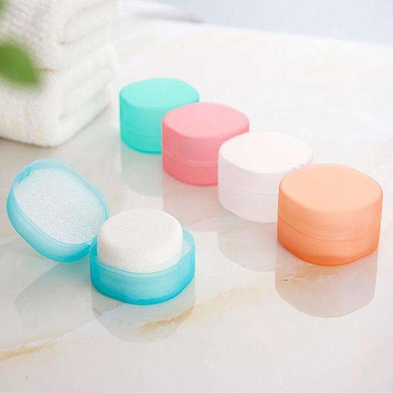 Круглый прозрачный пластиковый ящик для мыла Pubonge Wilder Home Accessoration Ванная комната Установить редакцию мода
