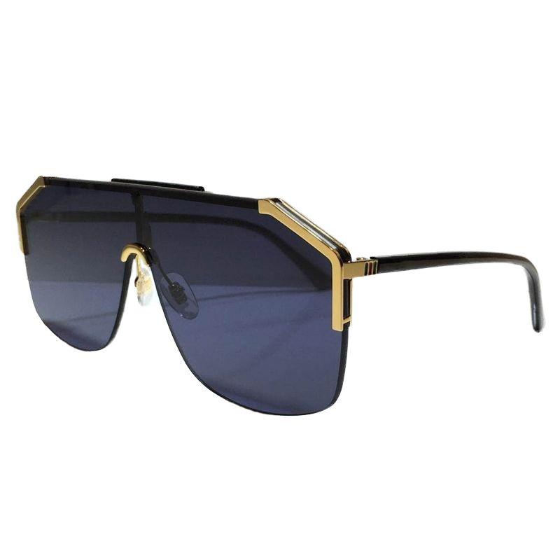 Diseño Gafas de sol Gafas 0291 Sin marco de moda Ornamental Eyewear UV400 Lente Calidad Simple Outdoor Unisex Máscara Gafas de sol 0291s