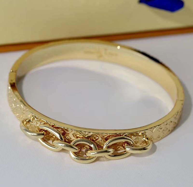 Классический цепной браслет мода браслеты для мужчины женщина леди женщины браслеты браслеты браслета ювелирные изделия клевер узор высококачественные подарочные браслеты