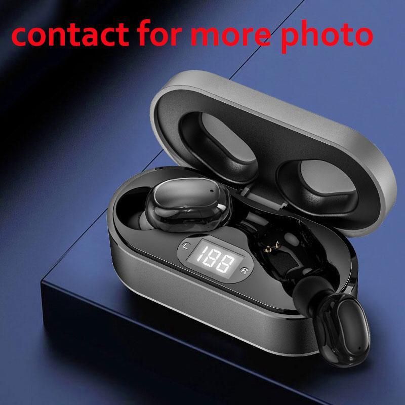 Auricolari auricolari wireless trasparenza trasparenza metallo Rinomina GPS Wirless Charging Bluetooth Cuffie Bluetooth Dropship in-Ear