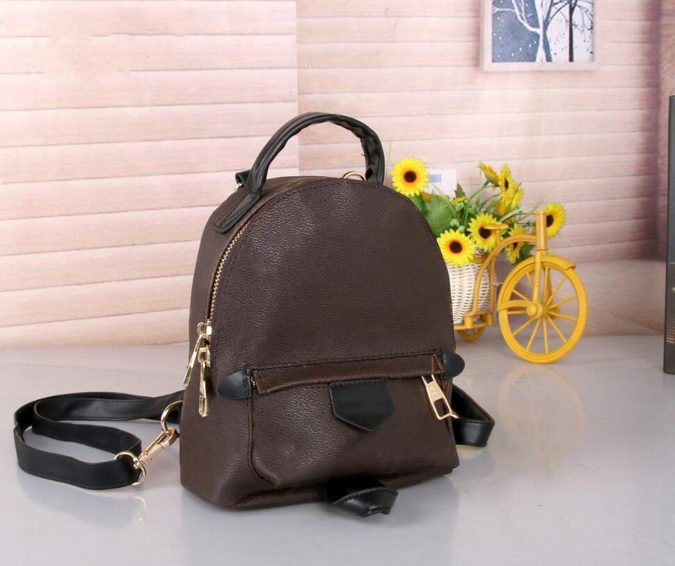 Palm Springs Mini Backpack Luxurys Designers Bags Lady Genuine Leather Backpacks Women Mini Shoulders Bag School Bag Mobile Phone Purse