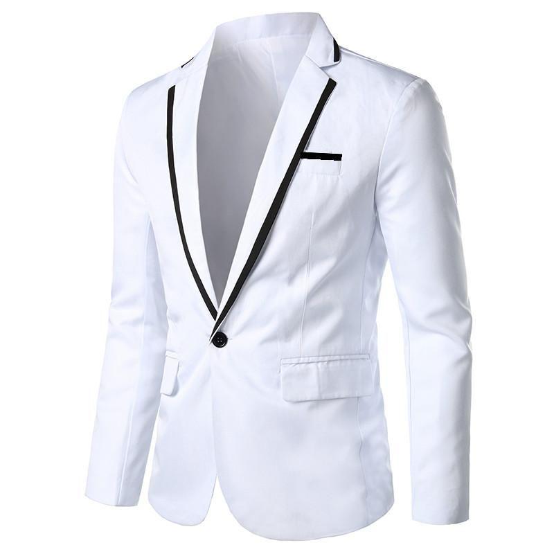 Men's Suits & Blazers 2021 Suit Jacket Autumn Fashion Blazer Slim Suitable Asian Size S-5XL Male Jaqueta