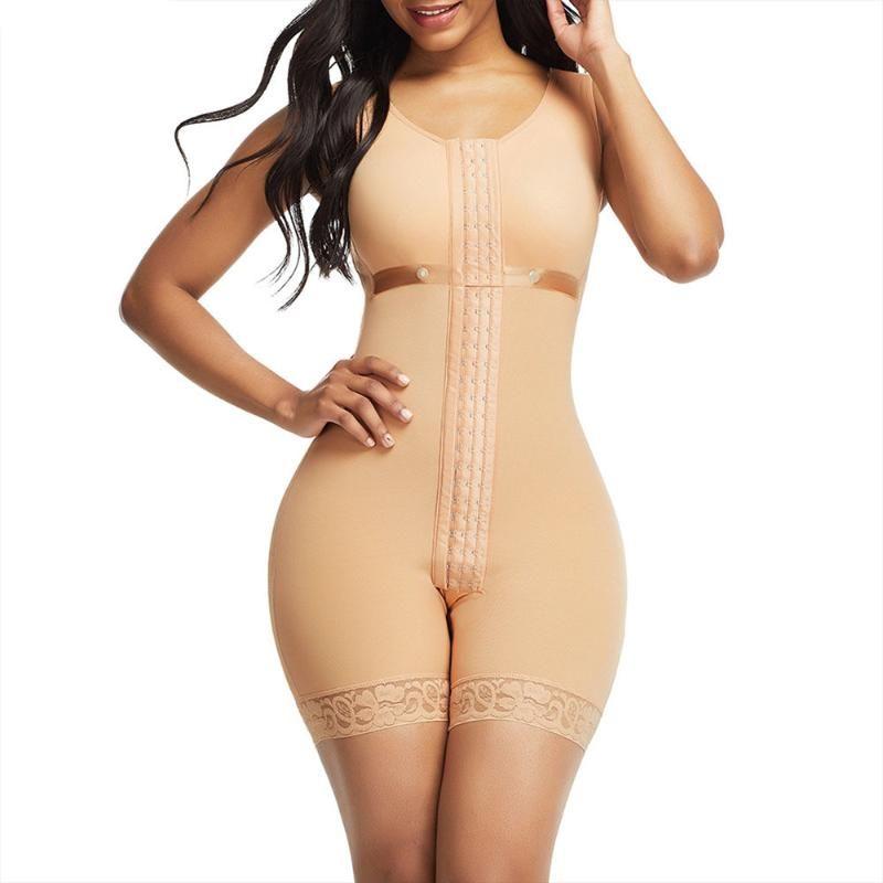 BuLifter Slimming Shapewear Full Body Shaper Post Liposuction Girdle Corset Tummy Control Faja Waist Shaper Open Crotch Firm