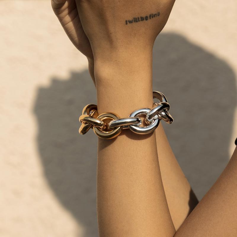 Link, cadeia das mulheres pulseiras de jóias tesoura de costura tesoura encanto amizade sublimação pulseira de cobra bizuteria damska