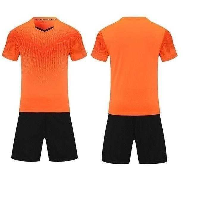 Leerer Fußball-Jersey-Uniform personalisierter Team-Shirts mit Shorts-gedruckten Designnamen und Nummer 12