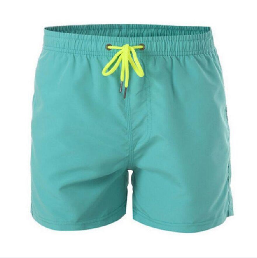 Erkek Spor Koşu Plaj Kısa Kurulu Swim Trunk Pantolon Hızlı Kuruyan Hareketi Sörf Şort Erkek 12 Renk S-4XL Için Spor Salonu Mayo