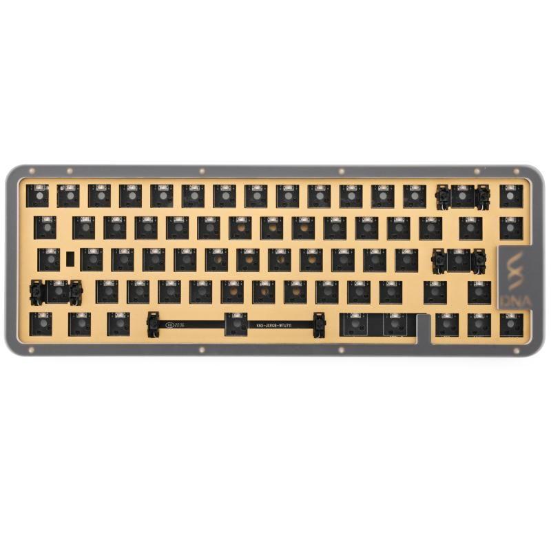 Tastiere DNA65 Kit kit 65% Kit personalizzato tastiera meccanica custodia da PCB Switch Switch Switch Switch Effetti di illuminazione con LED RGB