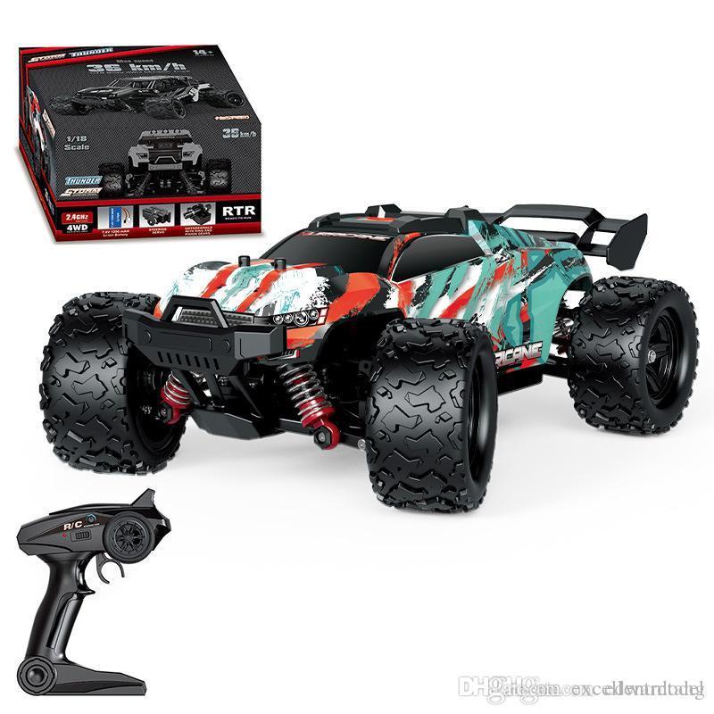 EMT OR3 4WD Monster Race Caminhão off-road, alta velocidade -36 km / h, engrenagem diferencial, moeda fresca, luzes led, brinquedo de aniversário garoto menino presente de natal