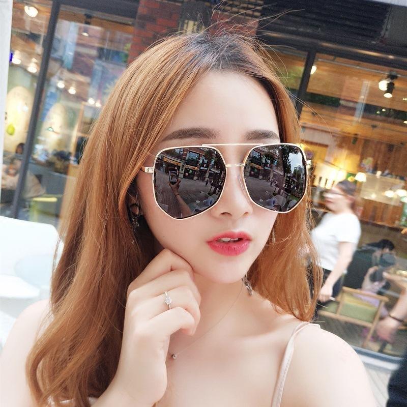 Occhiali da sole in metallo occhiali da sole cornice da donna uomini moda tendenza stili design di marca design femmina ottica unisex