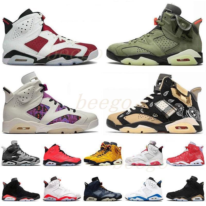 Jumpman jordan jordans aj6 retro retros 6 6s Chaussures de basketball réfléchissantes infrarouges Hommes Femmes DMP PE Millennial Pink Mens Sports Sports Chaussures Hare Baskers