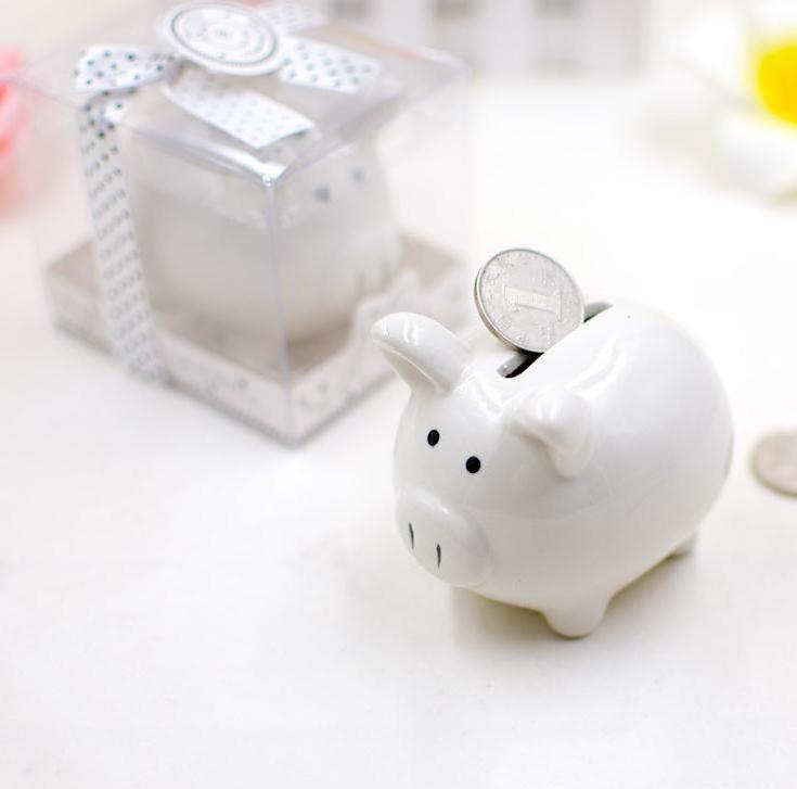Wedding Gift Married Supplies Gift Pig Piggy Bank New House Decoration Wedding Favors Party Storage Tanks Wholesale