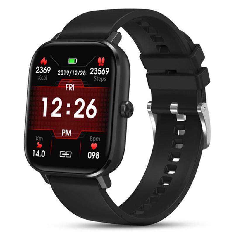 Smart Watch Smart Watch Men Bluetooth Call ECG 1.54 дюйма SmartWatch Женщины Фитнес артериального давления для Android IOS Все совместимый браслет