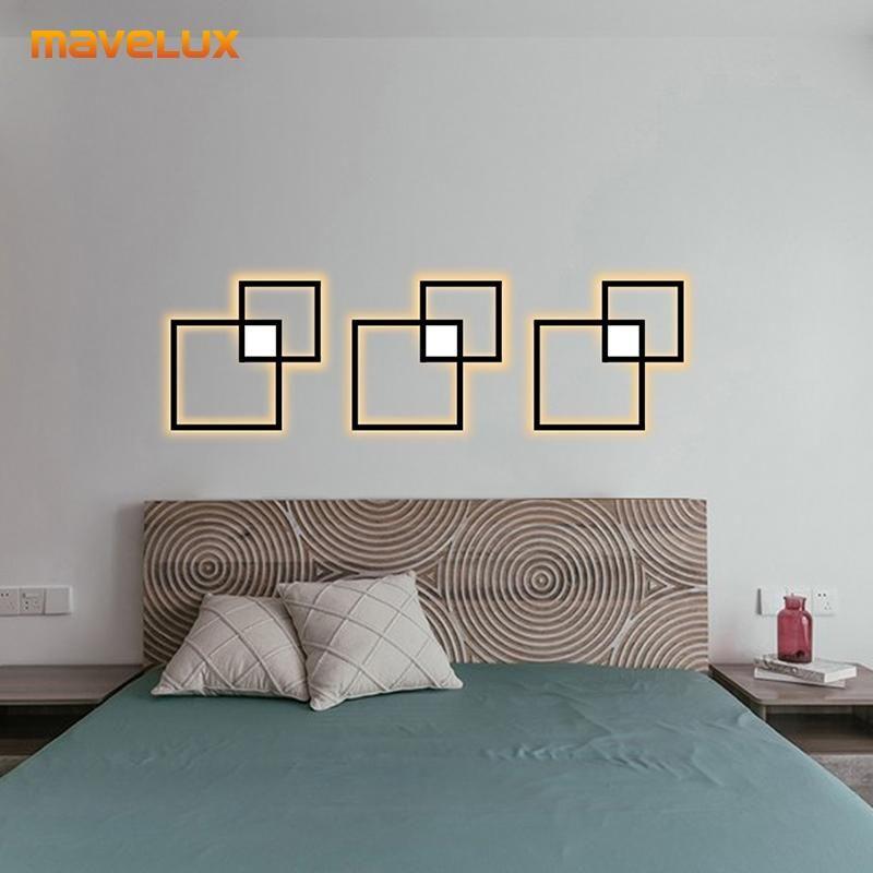 Wall Lamps Creative LED Lights For Bedside Aisle Dining Room Kitchen Living Foyer Restaurant El Villa Gallery Indoor Home Lamp