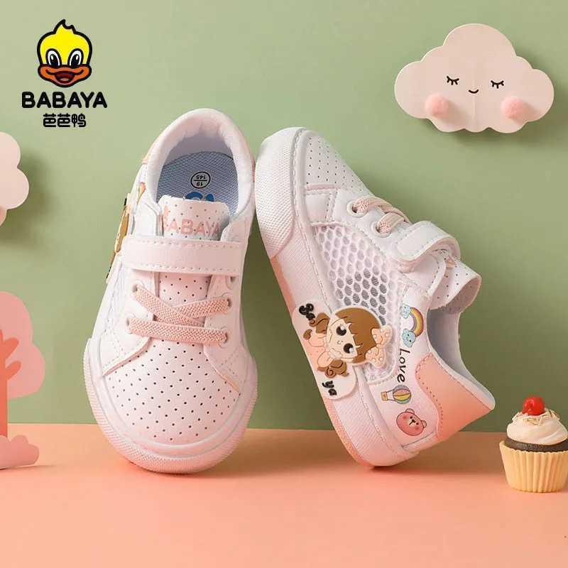 바바야 유아 신발 아기 소녀 1-3 세 소녀 그물 2021 봄 여름 새로운 통기성 어린이 공주 C0602