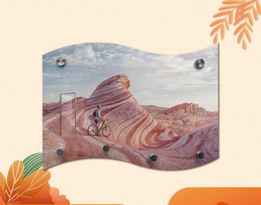 Schlüsselhalter Hanging Board Sublimation Leere Hangplatten MDF Flagge Form Bretter Benutzerdefinierte DIY Badezimmer Küchenzubehör Meer Versand LLA444