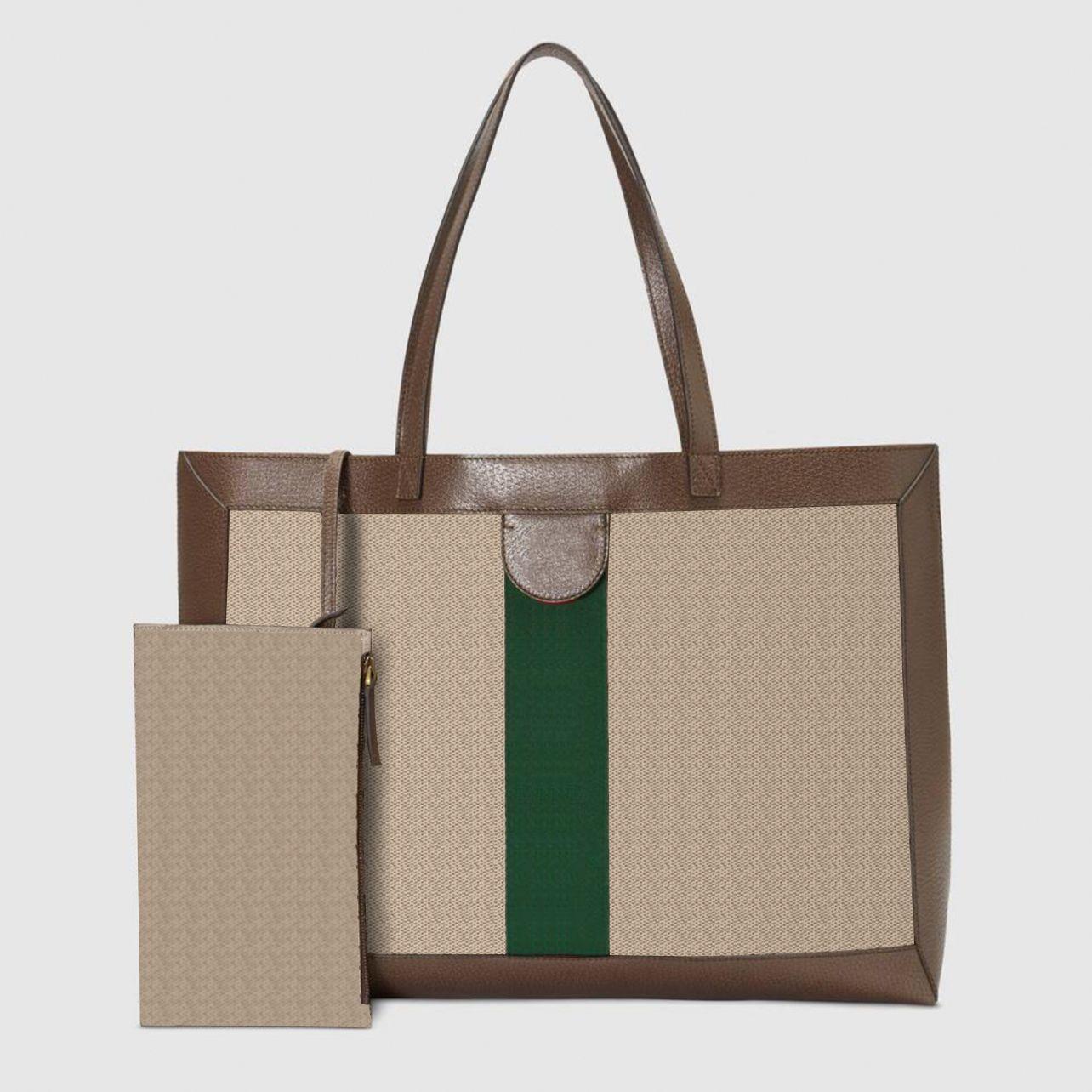 574796 سوبر سعة كبيرة ناعمة المرأة متوسطة اليد مع الحقيبة الإضافية الحقيبة الأخضر الأحمر على شبكة الإنترنت سيدة حقيبة يد