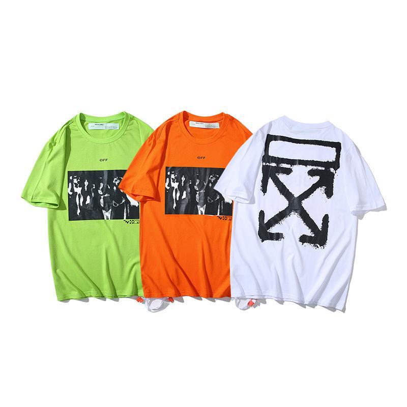 2021 estate nuova figura religiosa astratta graffiti pittura a olio manica corta t-shirt fuori stilepaeg