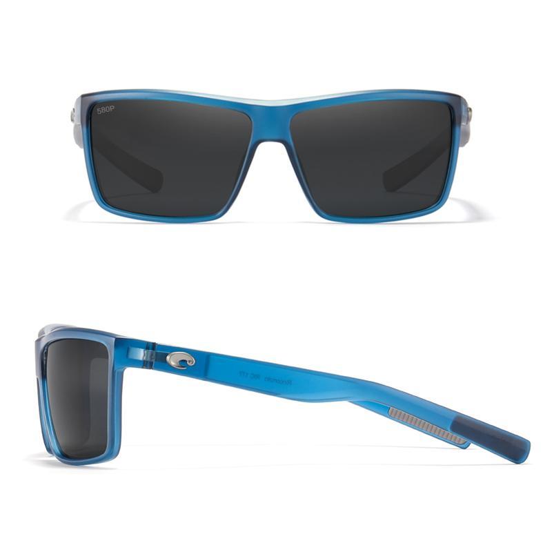 RINCONCITO 2021 New Square Sports Sunglasses HD Polarized Sun Glasses Men TR90 Frame Reflective Coating Mirror lens UV400 0222
