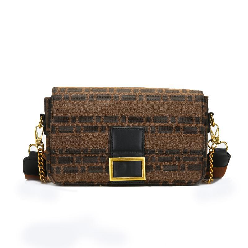 حقيبة الكتف مصمم للنساء حقيبة يد محفظة مع سلسلة السيدات الأزياء الصوفية جودة محفظة أكياس crossbody