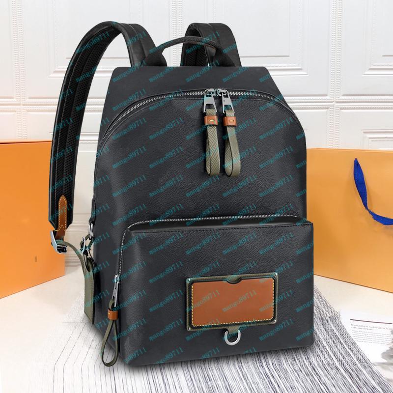 Школьные рюкзаки Классическая модная сумка Женщины Мужчины Кожа 28см Рюкзак Duffel Сумки Унисексные Службы Сумки Кошельки Tote