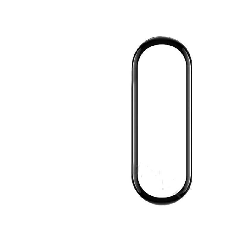 Doux PMMA + PC 3D Films de protecteur à couverture complète incurvée pour la bande Xiaomi MI 6 5 4 200 pcs / lot Pas de paquet de détail
