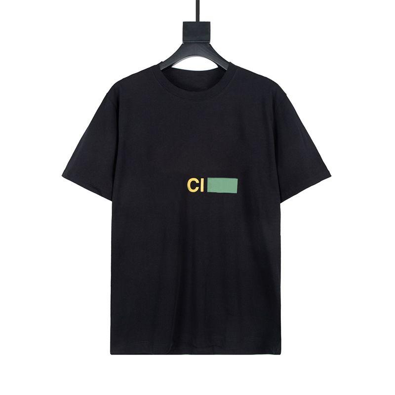 Estate Mens T Shirt Casual Manica Corta Moda Stampa Stampa Uomini di alta qualità Donne Donne Hip Hop Tees XS-L