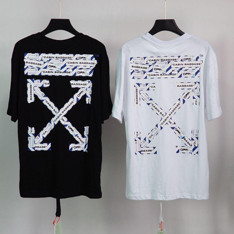 Chao Brand 2020SS CORDON CORDON CORDON CINDON T-shirt stampata T-shirt manica corta