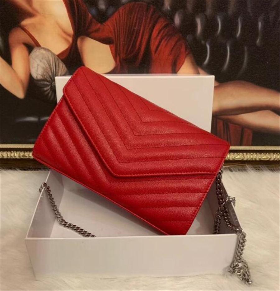 مخلب جلدية للنساء مساء أكياس الأزياء سلسلة محفظة سيدة حقيبة الكتف حقيبة يد pressbyop البسيطة رسول حقيبة حامل بطاقة محفظة