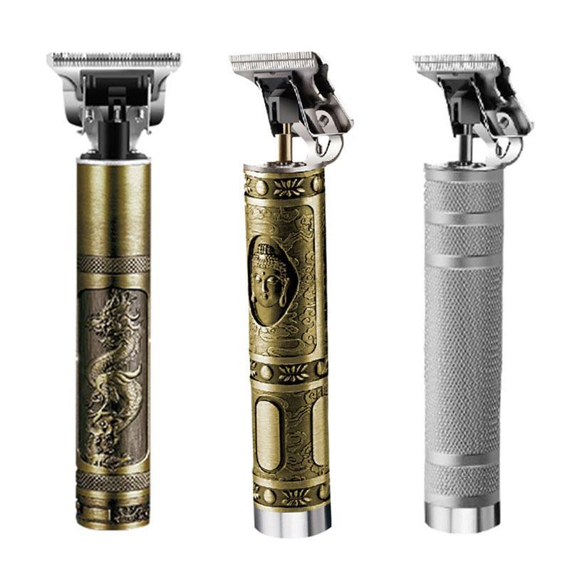 Kemei 0mm Baldheaded Saç Kesme Saç Düzeltici Ağır Hitter Akülü Düzeltici Erkekler Saç Kesme Makinesi 210302