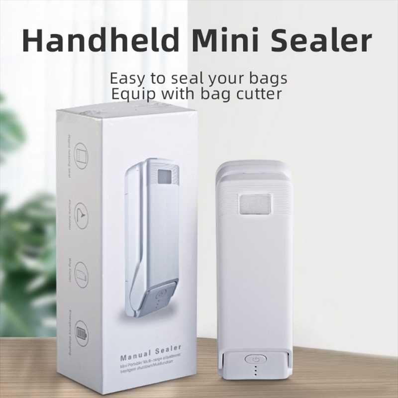 Kunststoff-Dichtungsmaschine Mini-Wärme für Kartoffel-Chip-Tasche-Clip-Küchenwerkzeug-tragbare Heizkunststoff-Tasche USB-Charg