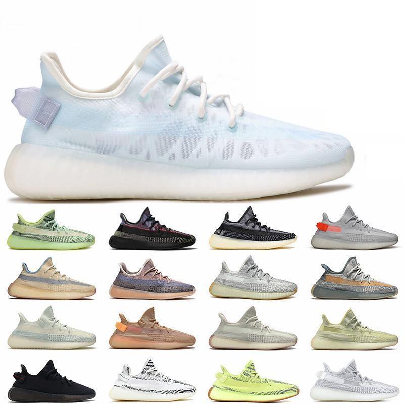 V2 Slipplers Siyah Yansıtıcı Statik Olmayan 3 M Terlik Mavi Tonu Bakır Zebra Krem Beyaz Erkek Kadın Atletizm Ayakkabı Tasarımcısı Ayakkabı kil sneaker