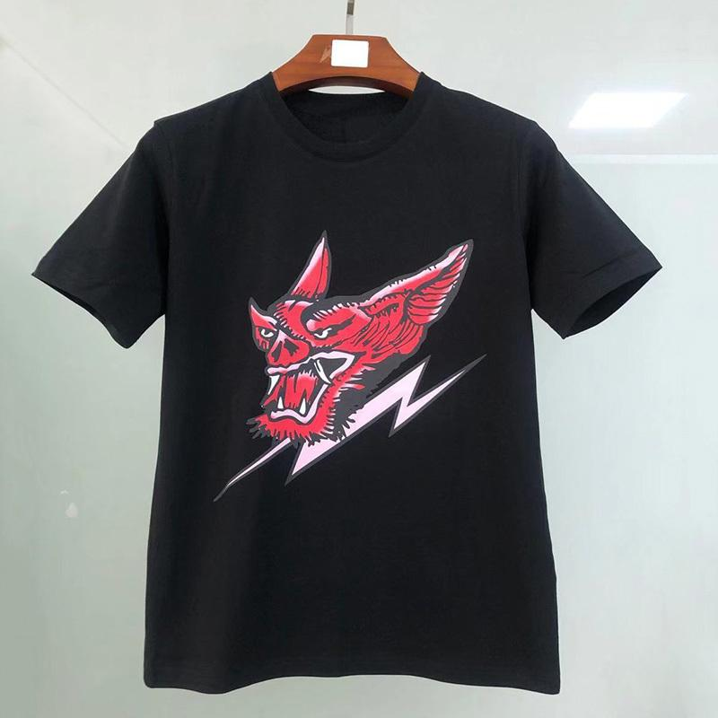 Мужские стилистные футболки черные мужские моды стилист футболки хип-хоп лето высокое качество с коротким рукавом S-XXL