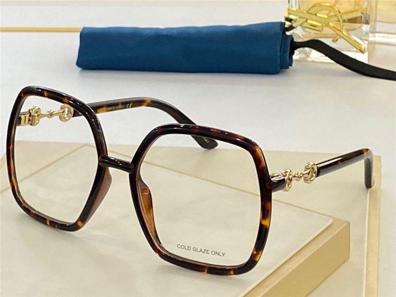 0890 جديد أزياء نظارات العين للنساء خمر مربع الإطار شعبية أعلى جودة تأتي مع حالة الكلاسيكية 0890 ثانية النظارات البصرية