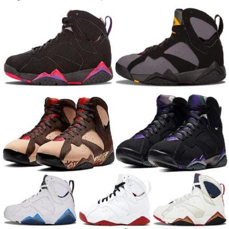 7 3S المال الخالص الفرنسية الأزرق رجالي أحذية كرة السلة أحذية رياضية 7 ثانية السابع أحذية رياضية رياضية رياضية