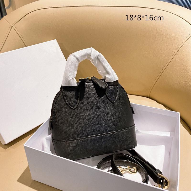 أكياس شل المرأة الفاخرة 5 c0lors مصممي أزياء صغيرة حقيبة كروسبودي أحمر أسود أصفر مع صندوق bl2021022301