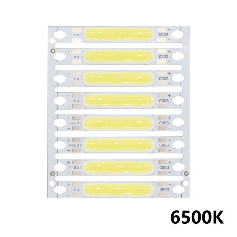 8 шт. 1W 3W 5W 300ma COB Светодиодный светильник 3V 9V 12V 15V 17V для настенных ламп света Светодиодные трубки DIY