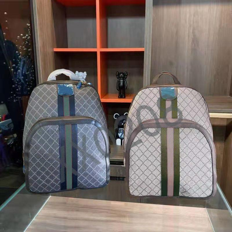 2021 Novo designer design de alta qualidade marca mochila para homens e mulheres, versátil imprimiu schoolbag, estilo europeu e americano.