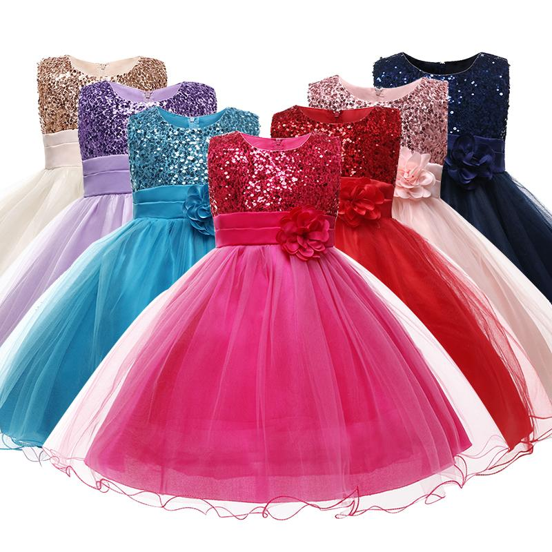 Kinder Halloween Mädchen Kostüm Prinzessin Kleid Kleinkind 7 Farben Candy Brautkleider Für Mädchen Blumen Kinder Urlaub Geschenk 210226