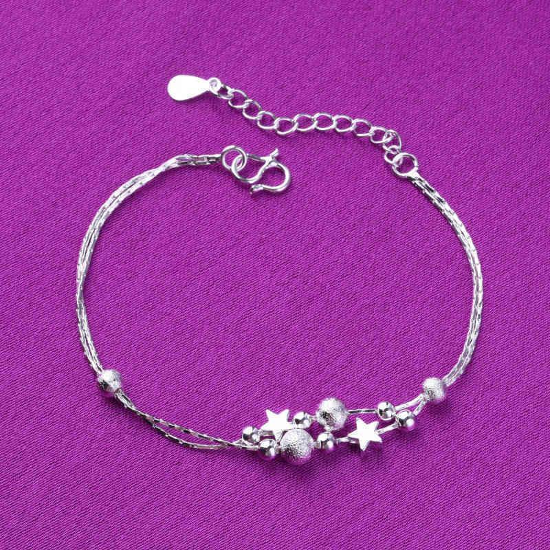 Los anillos de compromiso de los pendientes del diseñador, las pulseras y los collares de oro son los favoritos de las mujeres enlazan, cadena HString plata japonesa japonesa joya coreana joyería doble capa pol