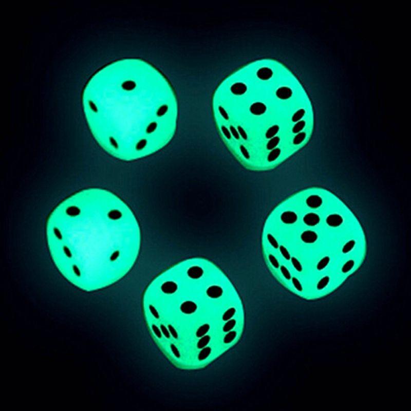 14 мм светящиеся кости D6 6 на светящиеся кубики светятся темные бозоны дворянские кубики питьевые игры смешные пабы бар игра игрушки хорошая цена высокое качество # S1