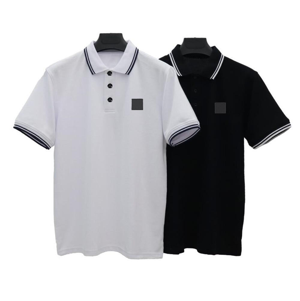 T-shirt da uomo di alta qualità da uomo classico T-shirt da t-shirt da uomo a maniche corte ricamo a maniche corte T-shirt di lusso New Designer Polo Shirt High Street Tee