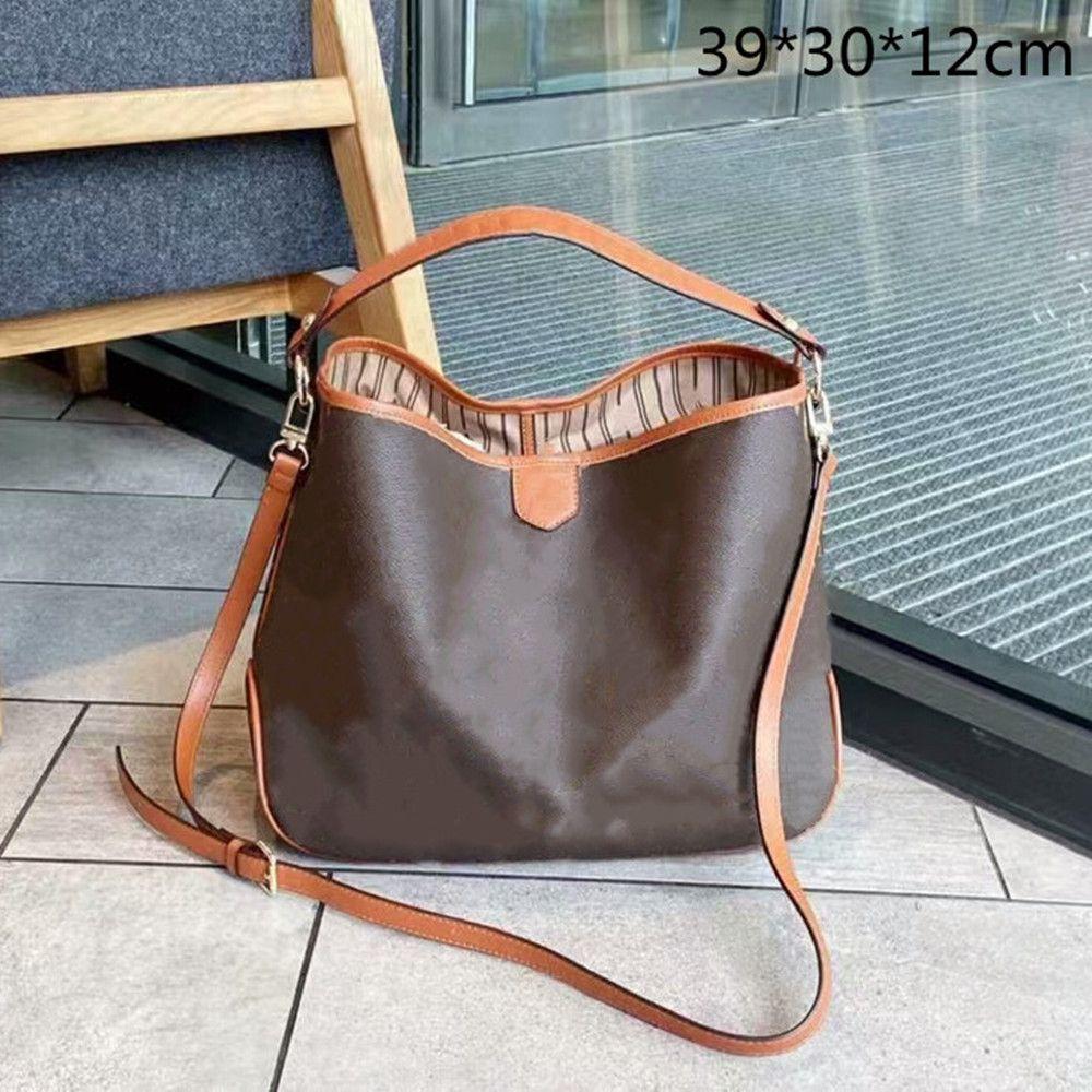 2021 الفاخرة النساء المحافظ أزياء اليد مصممين crossbody أكياس الصفق حقيبة يد حقيبة تسوق السفر سعة كبيرة الزهور المطبوعة L21060701
