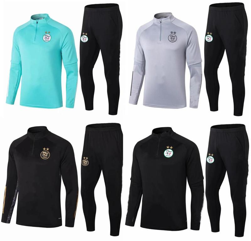 2020 2021 Argélia Homens Futebol Tracksuit Jacket Survection 20 21 Maillot de pé Feghoul Mahrez Bounce Futebol Futebol Terno