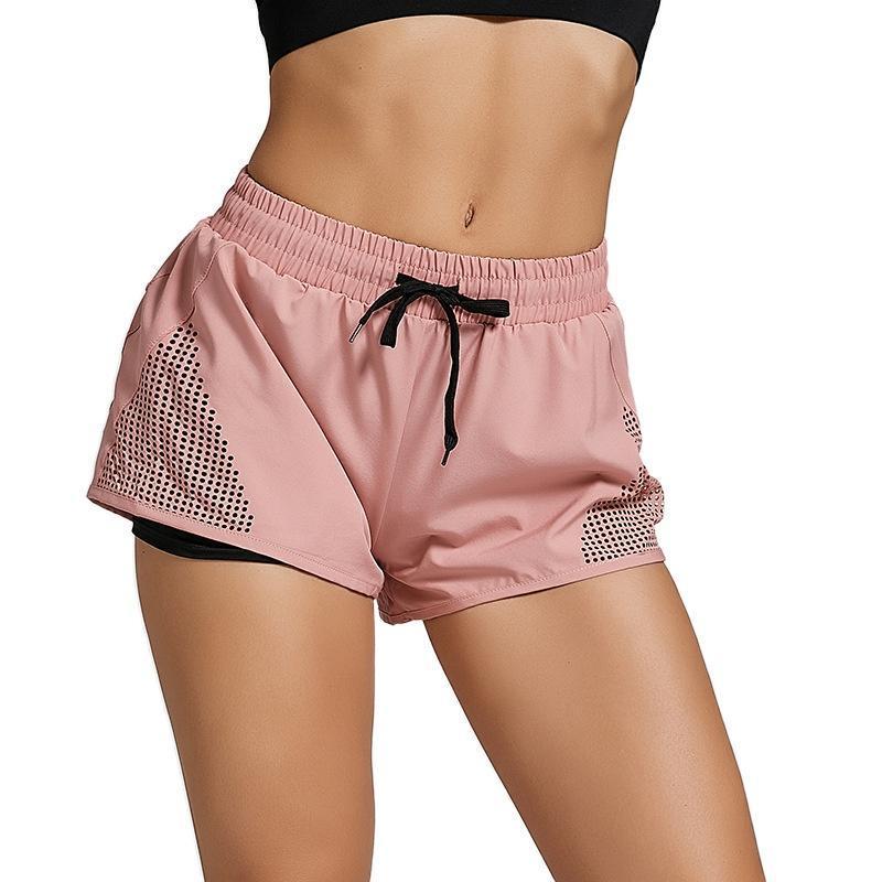 اليوغا تتسابق السراويل الرياضية المرأة سريعة الجافة فضفاضة عالية مخصر عارضة اللياقة البدنية تشغيل السراويل الرياضة أحذية النسائية