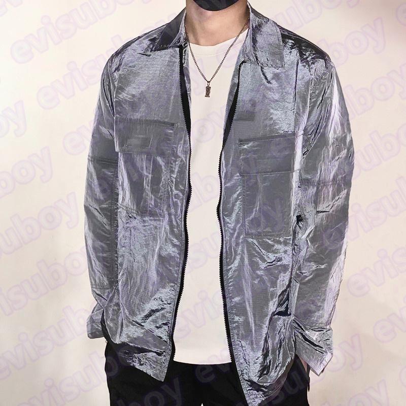 21SS Mens Giacca Designer Giacca in Nylon Metal Pullover Giacche Casusali Donne Donne Vento Viaiole Cappotti Abbigliamento Brandands Abbigliamento Capispalla