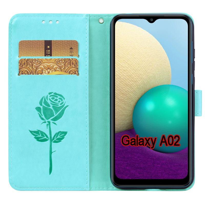 Case Case Wallet Защитная Galaxy Flip SM-A022F A022M для крышки Samsung 02 Корпус Case Phone A A02 Samsung Shell для кожи FUNDA VWQRE