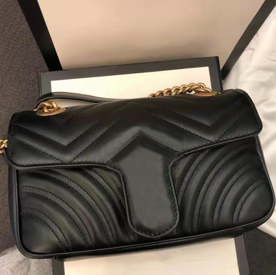 2021 Designer full range lussurys borsa a mano borse borse da borse all'ingrosso Designer design con croce classico con scatola