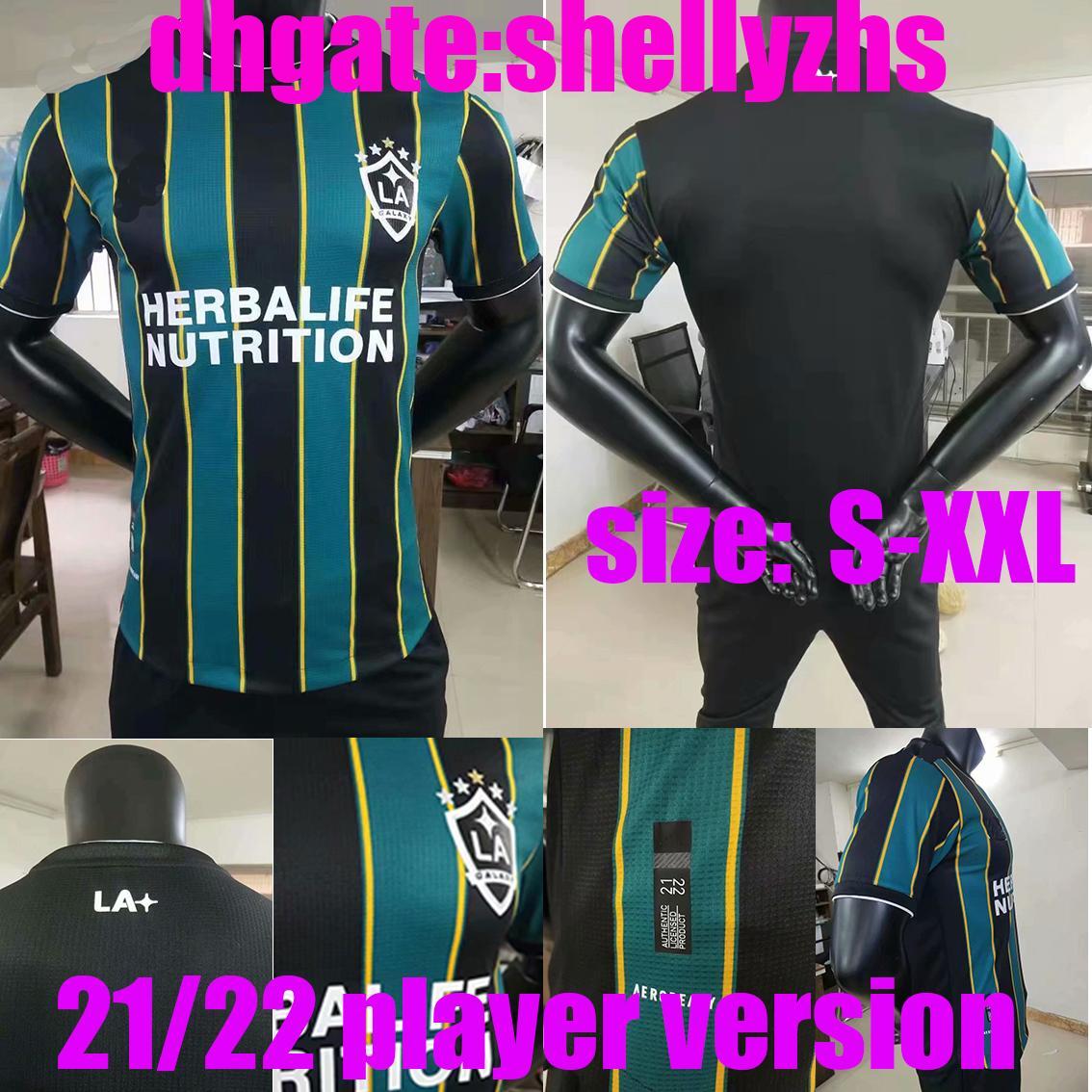 Версия для игрока MLS 2021 2022 Los Angeles La Galaxy Home Выездные трикотажные изделия Chicharito J.dos Santos Kljestan 21 22 Мужчины футбольные рубашки