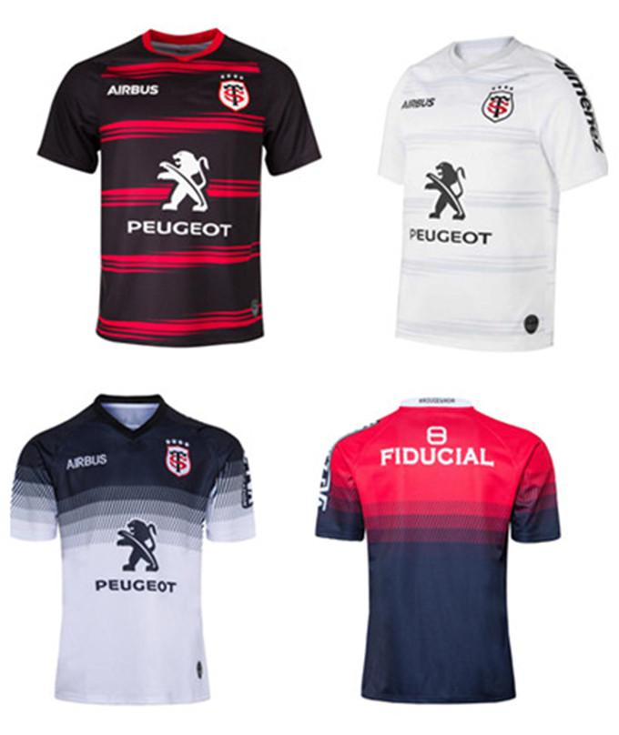 2020 2021 New Toulouse Home Rugby Jersey 2019 Stand Toulousain Rugby Home Training Training Jersey Size S - 5XL