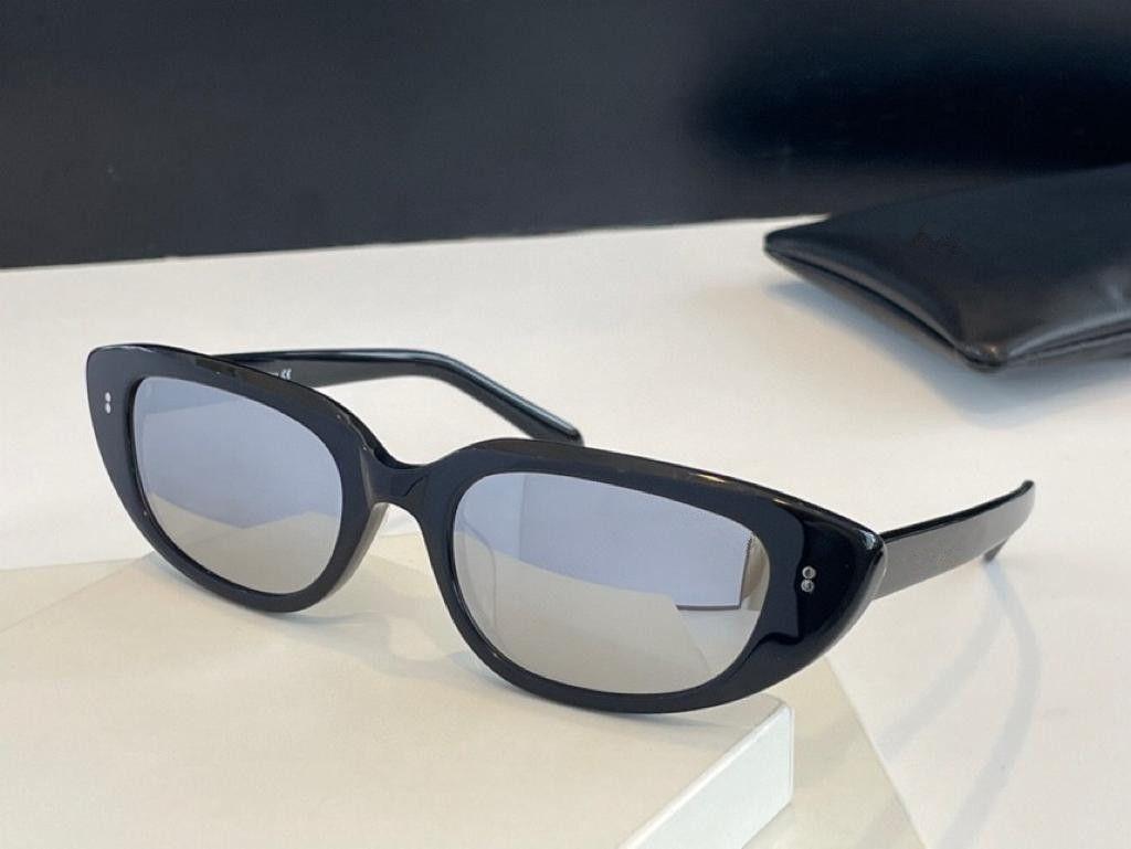 4S095 Fashion Women Sunglasses Anti-ultraviolet UV-400 Plank oval Frames Net Red Same Retro Fashion Italian Imported Plate Full Frame Box
